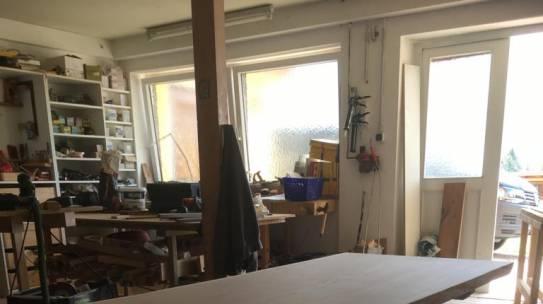 Tisch Eiche – aus einem Stück